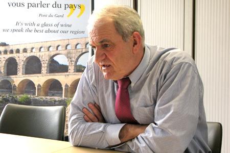 Denis Verdier, le président de la CCVF. © A. AUTEXIER