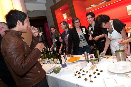 Les premiers accords gourmandes organisés par l'association les DiVINes d'Alsace le 12avril a remporté un franc succès. © M. FAGGIANO