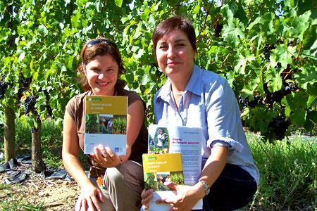 Christelle Guillet (à gauche), conseillère prévention à la MSA 49, et Jocelyne Rabjeau-Buret, médecin conseil MSA 49.