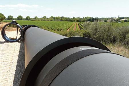 Irrigation dans les vignes du Languedoc-Roussillon. © RÉGION LR