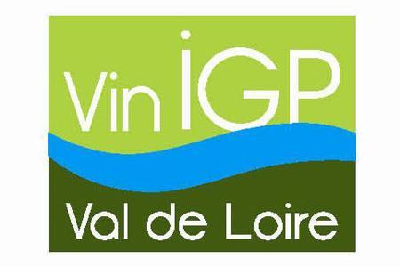 Le logo des vins IGP du Val de Loire.