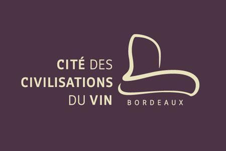 Le logo de la future Cité des civilisations du vin, dont le chantier démarre ce mois de janvier.