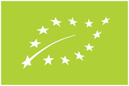 Le logo européen de l'agriculture biologique.
