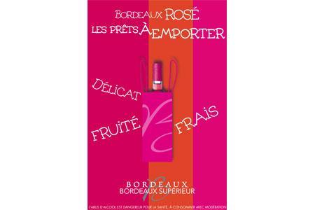 Bordeaux : deux rosés pour le prix d'un