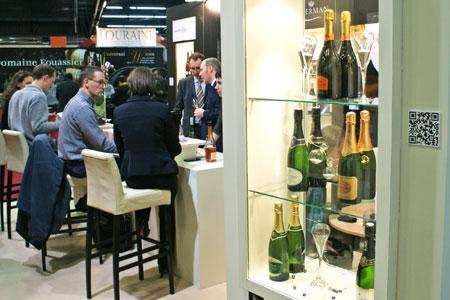 Le Salon des vins de Loire est le seul salon européen dédié à un seul vignoble, rappellent ses défenseurs. © P. TOUCHAIS