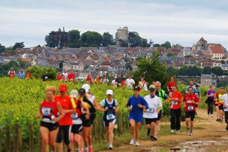 En 2012, 800 coureurs avaient participé au Trail de Sancerre (Cher).