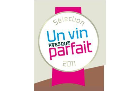 """Logo """"Un vin presque parfait"""""""