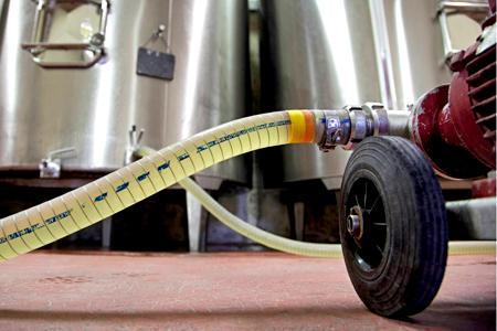 Les vinifications posent problème à Bordeaux à cause de la petite récolte de 2013. © P. ROY