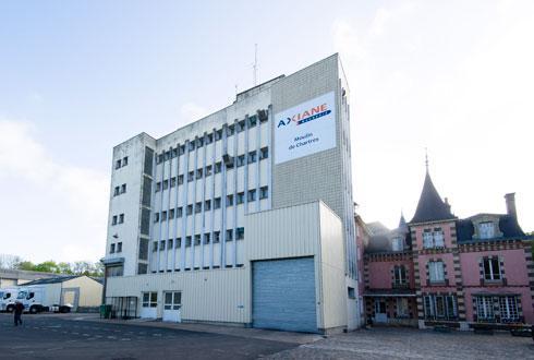 Le moulin de Chartres devrait fermer. La moitié des postes serait supprimée et l'autre moitié serait repositionnée sur d'autres sites, y compris au siège, près d'Orléans (Loiret). © AXÉRÉAL