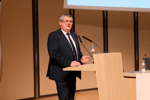 « Nous n'avons pas atteint la taille critique en pommes de terre », reconnaît Marc Moser, président du Comptoir agricole. © C. REIBEL