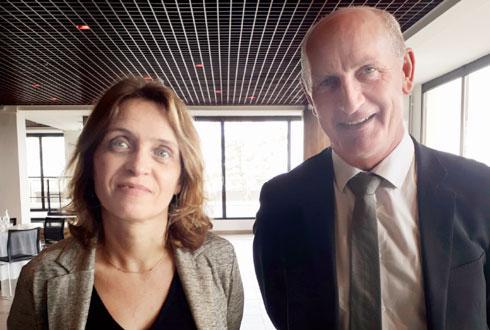 Alexandrine Legras-Populus et Sylvain Hinschberger forment le tandem placé à la tête de Coop de France Grand Est. © Coop de France Grand Est