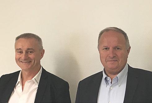Christophe Descréaux, jusque-là président des Ets Descréaux, et Xavier Bernard, président du groupe Bernard.