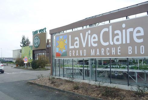 Le groupe coopératif Cavac se diversifie dans l'alimentaire bio avec l'enseigne «La Vie Claire», avec un espace dédié dans deux magasins Gamm vert. Ici celui de Fontenay-le-Comte inauguré le 3mars.