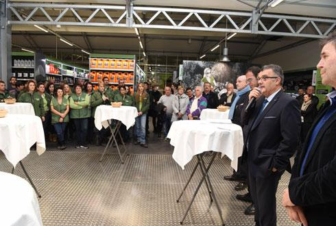 aquitaine ma 239 sadour inaugure plus grand gamm vert actualit 233 s agrodistribution