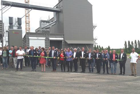 Au vu des conversions de ces dernières années chez les agriculteurs, les trente cellules du nouveau silo bio inauguré le 15juin, seront pleines dès l'été prochain. © AGRIBIO UNION