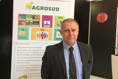 «Dans le réseau, nous avons un objectif de 321989CEPP à obtenir», indique Jean-Paul Palancade, directeur d'Agrosud, et 23% de l'objectif est déjà réalisé. © M. COISNE