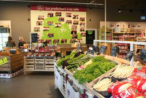 Les résultats positifs de ses deux premiers magasins, Prise direct', ont décidé la coopérative à déployer le concept dans l'ensemble de la région. © B. CAILLIEZ