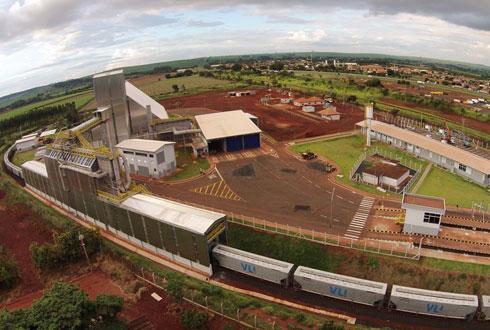 Le nouvel entrepôt du terminal de Guará, prévu dans le cadre de l'accord Tereos-VLI, permettra le stockage de 80 000 tonnes de sucre brut.