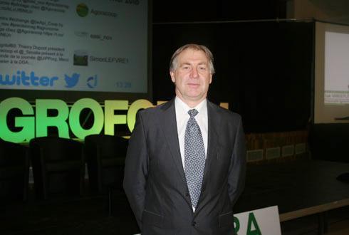 Luc Vandeputte, responsable du service technique d'Agora: «Chaque année, Agora choisit un ou plusieurs thèmes sur lesquels les agriculteurs s'interrogent et que nous avons étudiés.»
