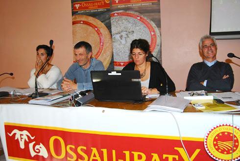 L'AOP Ossau-Iraty et les fabricants d'aliments ont dévoilé, vendredi dernier, leur logo d'aliments tracés.