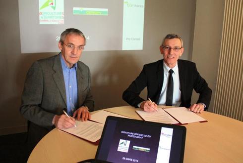 Bourgogne cerepy signe un partenariat avec la chambre d 39 agriculture actualit s - Chambre agriculture yonne ...