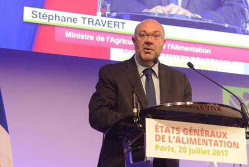 Lancés le 20juillet, ici avec Stéphane Travert, ministre de l'Agriculture, les EGalim prendront fin le 21décembre. Mais tout reste à faire. © C. SAIDOU/MIN.AGRI