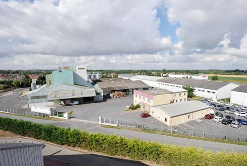 Nealia dispose de trois usines, dont celle de Saint-Martin-sur-le-Pré dans la Marne (photo) où se situe également son siège social.
