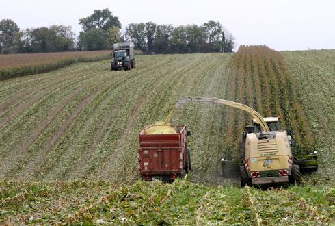 Pour Agrial, l'économie du partage est une solution pragmatique pour optimiser et compléter le revenu des agriculteurs. © A. DUFUMIER
