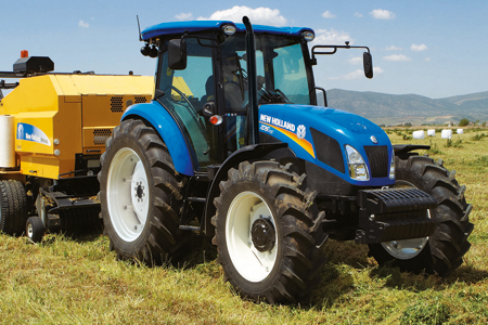 New Holland TD5, un 4 cylindres disponible en 2013
