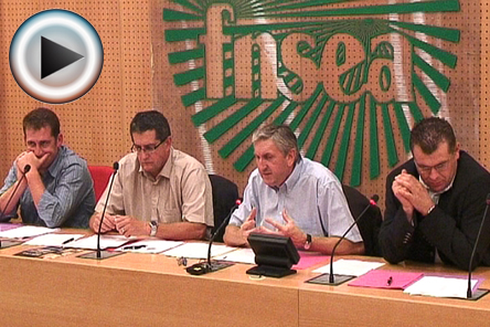 Crises: FNSEA et JA appellent à «une forte mobilisation en région» le 16 octobre (VIDEO). Photo GFA